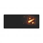 Коврик для компьютерной мыши, X-game, Dota 2 (Extra Large), 295 x 770 x 4мм Резиновая основа, Тканевая поверхность, Склеивание, Гладкая поверхность, Чёрный