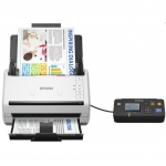 Сканер Epson WorkForce DS-530N, A4, 600 x 600 dpi, USB, Ethernet 10/100 Base Tx, B11B226401BT