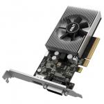 Видеокарта, PALIT, GT1030 2048M (4710636269943), NEC103000646-1082F, sDDR4, 64B, DVI, HDMI, 135 x 69 x 20 мм, Цветная коробка